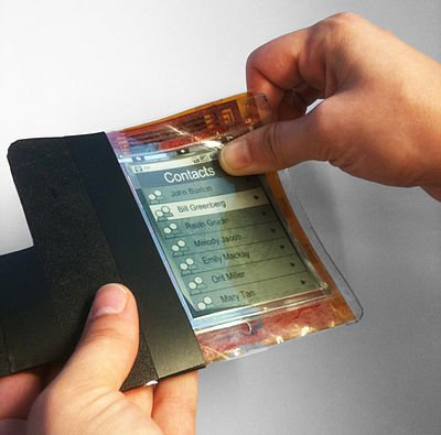 bendable phone screen